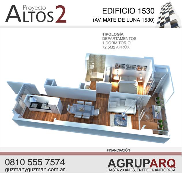 Foto Edificio en Capital de Proyecto Altos 2: 10 ubicaciones residenciales y comerciales 100% FINANCIADOS numero 8