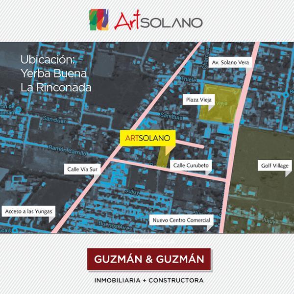 Foto unidad Departamento en Venta en  Yerba Buena ,  Tucumán  ArtSolano, complejo cerrado.