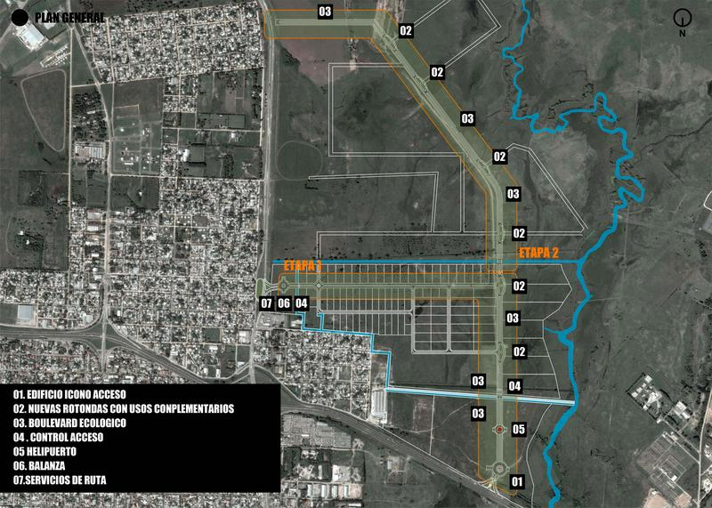 Foto Condominio Industrial en Campana Autopista Ruta 9 Panamericana km 77,5 numero 6