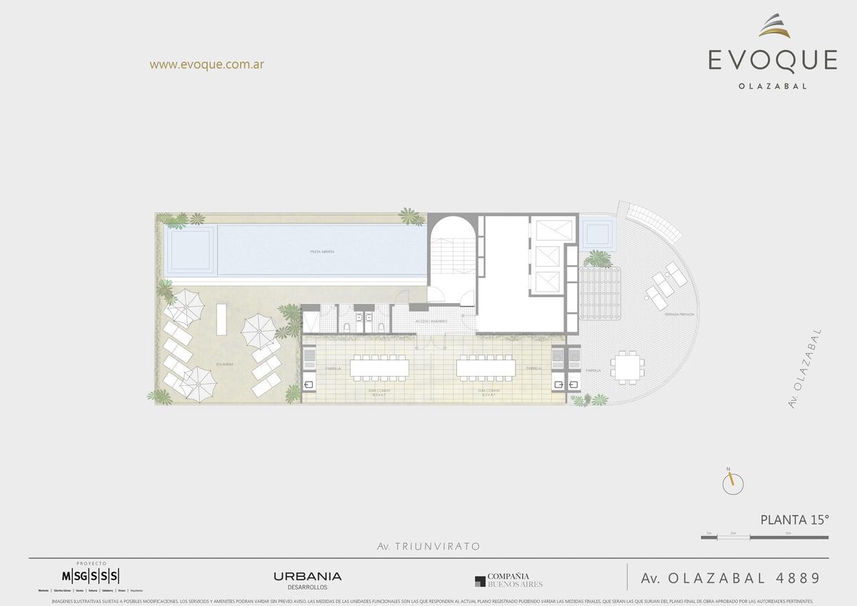 Foto Edificio en Villa Urquiza AV. OLAZABAL ESQ. AV. TRIUNVIRATO numero 23
