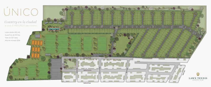 Foto Country en Parque 9 De Julio Lotes en exclusivo Country Lawn Tennis - La vida a  cinco minutos del centro numero 4