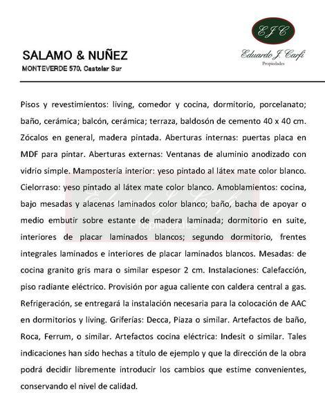 Foto Edificio en Castelar Sur MONTEVERDE 570 numero 10