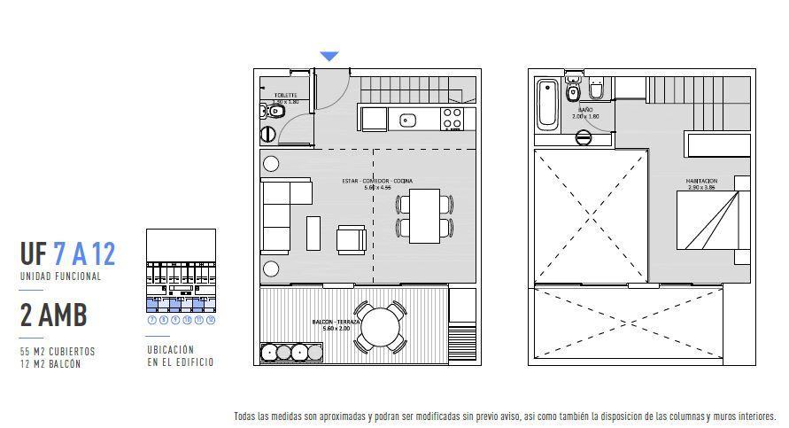 Emprendimiento Achalay en Villa Urquiza
