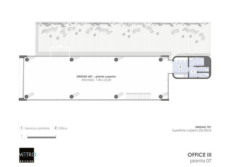 Emprendimiento METRO BUILDING: Office III en Belgrano