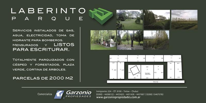 Foto Barrio Abierto en Trelew Parque Laberinto numero 3