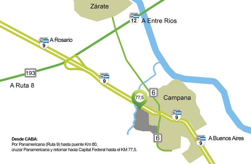 Foto Condominio Industrial en Campana Autopista Ruta 9 Panamericana km 77,5 numero 4