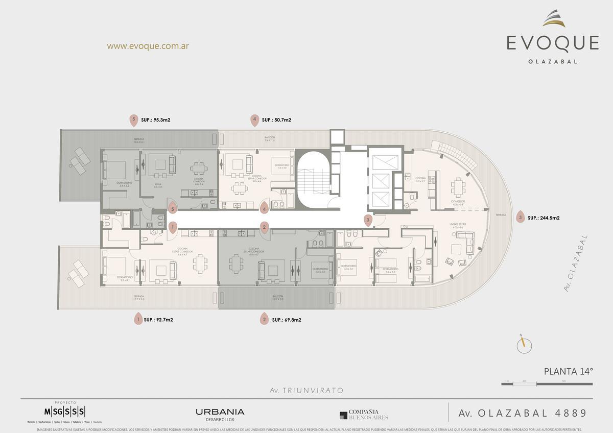 Foto Edificio en Villa Urquiza AV. OLAZABAL ESQ. AV. TRIUNVIRATO numero 18