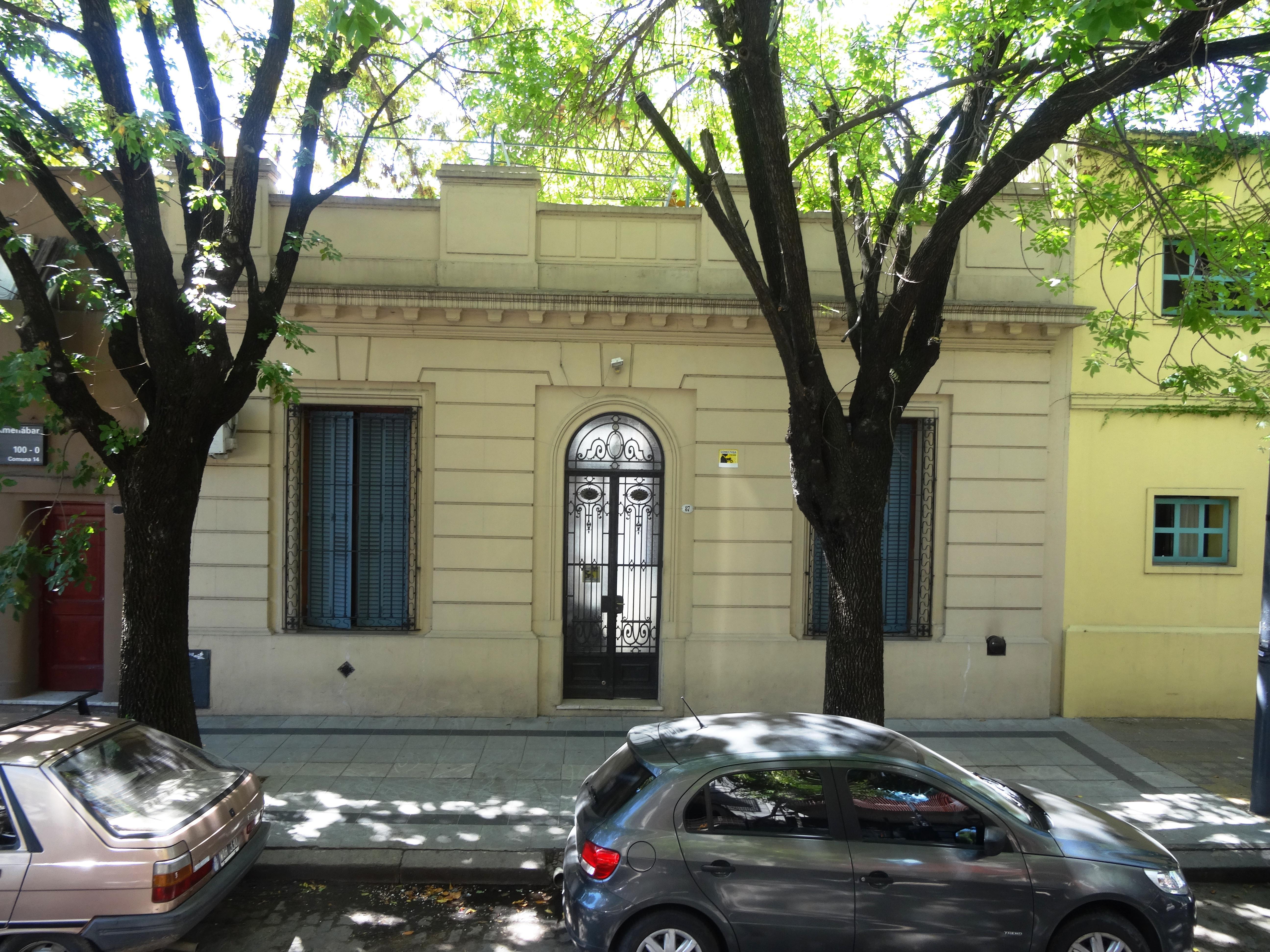 Foto Casa en Alquiler |  en  Palermo ,  Capital Federal  Amenabar 87