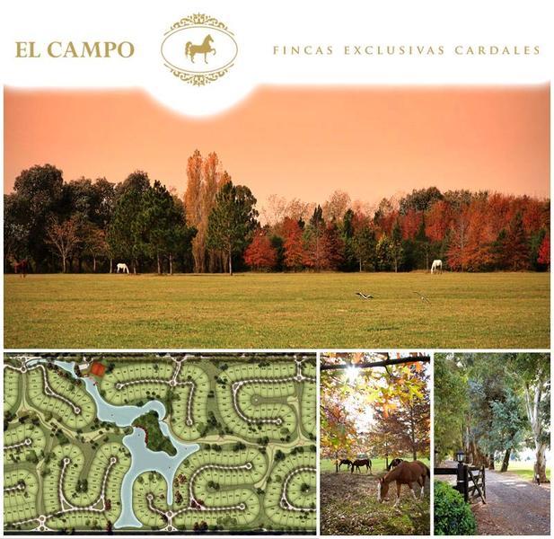 Foto Terreno en Venta en  El Campo - Fincas Exclusivas Cardales,  Countries/B.Cerrado  Lotes en Los Cardales