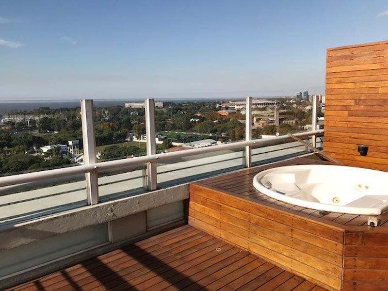 Foto Departamento en Venta en  Nuñez ,  Capital Federal  Penthouse Totalmente Reciclado con Terraza y Parrilla con vista  increíble !!!!  Torre Centenial - Av. Libertador 8000