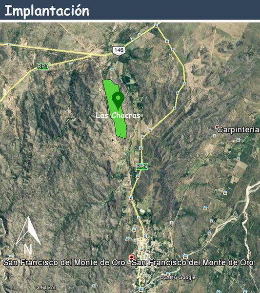 Foto Terreno en Venta en  San Fco Del Monte De Oro,  Ayacucho  San Fco Del Monte De Oro