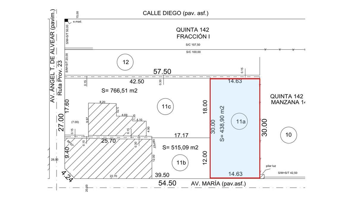 Rubica Terreno En Venta En Don Torcuato Maria Al 1500
