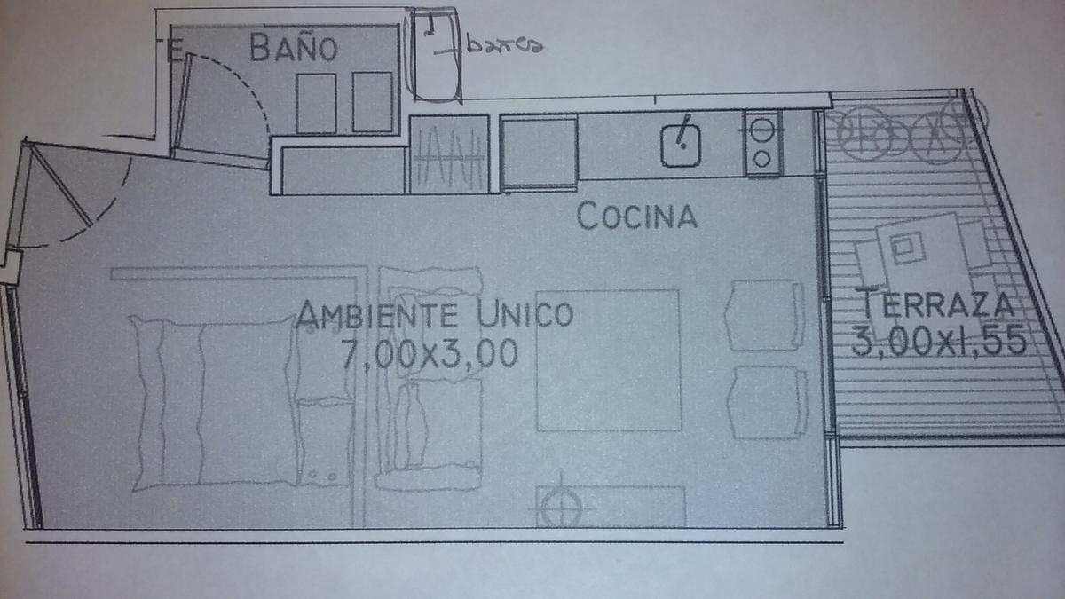 Foto Departamento en Alquiler en  Palermo ,  Capital Federal  Dorrego al 1600