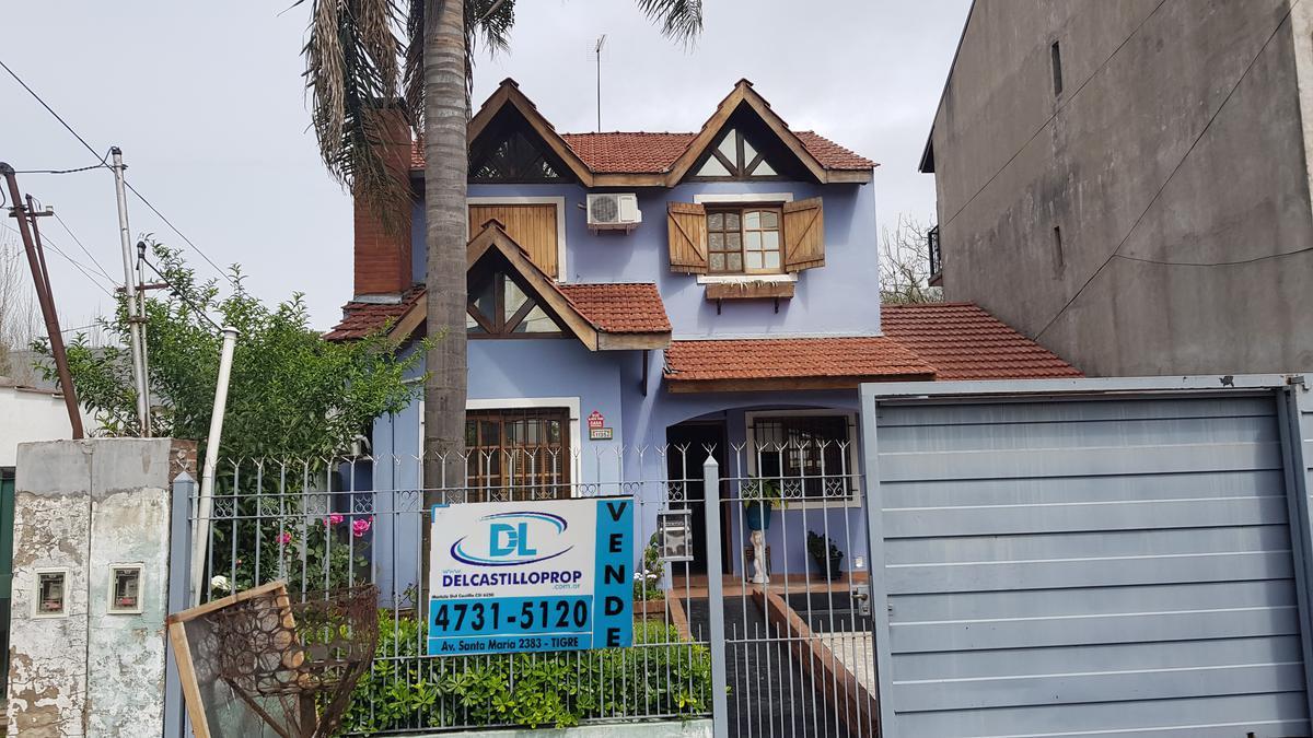 Foto Casa en Venta en  Don Torcuato,  Tigre  Fray J. Santa María de Oro al 1100