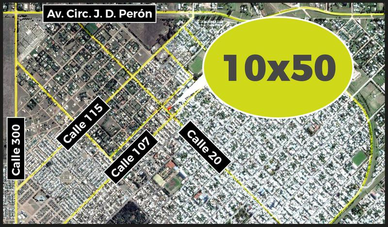 Foto Terreno en Venta en  Norte,  General Pico  20 entre 107 y 109