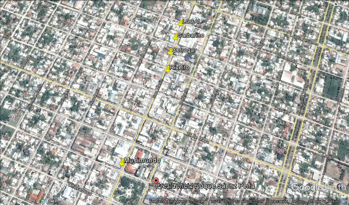 Foto Local en Alquiler en  Centro,  Presidencia Roque Saenz Peña  San Martin al 800