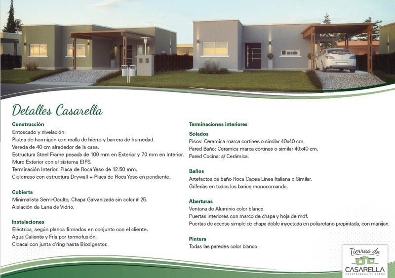 Foto Casa en Venta en  Zarate,  Zarate  Tierras de Casarella Lote con Casa
