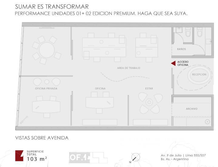 Foto Oficina en Alquiler en  Monserrat,  Centro  Lima al 500