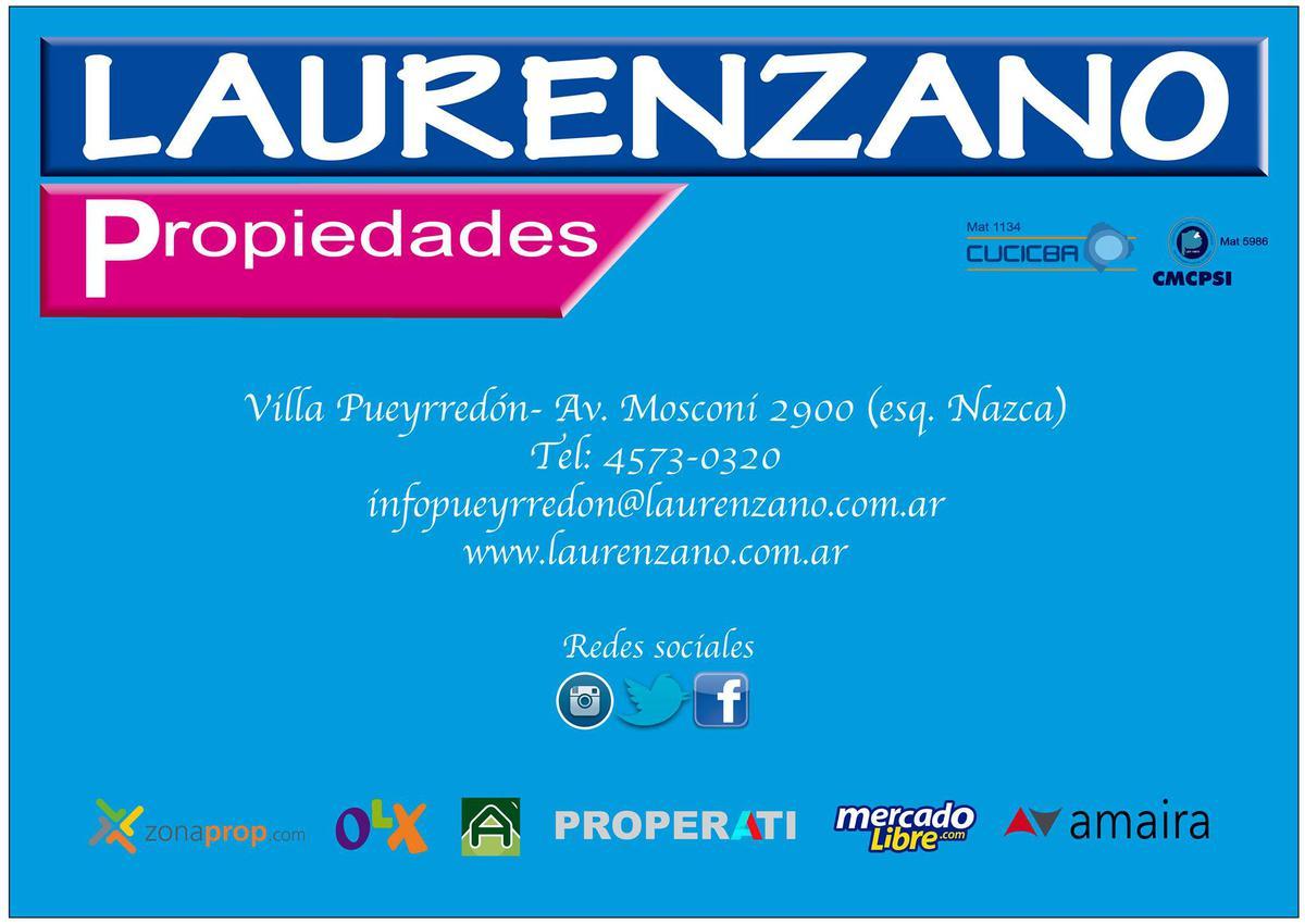 Foto Terreno en Venta en  Villa Pueyrredon ,  Capital Federal  HABANA 2800