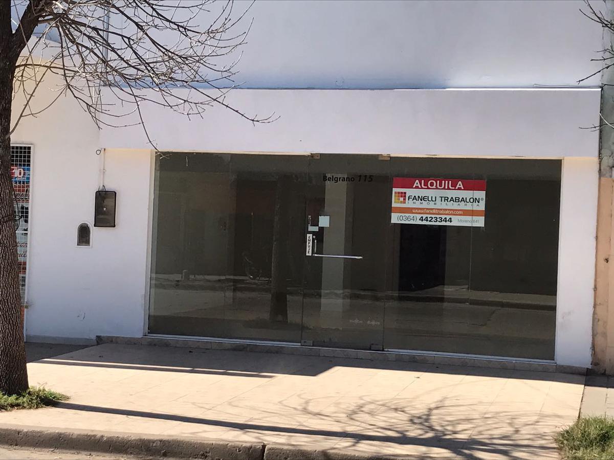Foto Local en Alquiler en  Centro,  Presidencia Roque Saenz Peña  Belgrano al 100