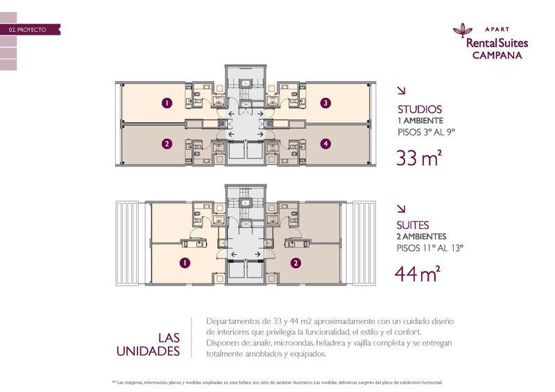 Foto Departamento en Venta en  Centro (Campana),  Campana  Colón 212 - Rental Suites Campana