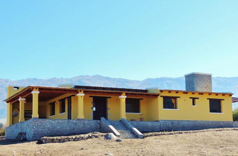 Foto Casa en Venta en  Tafi Del Valle ,  Tucumán  En obra - 3 dormitorios 2 baños, lavadero.  El Rodeo, Barrio cerrado