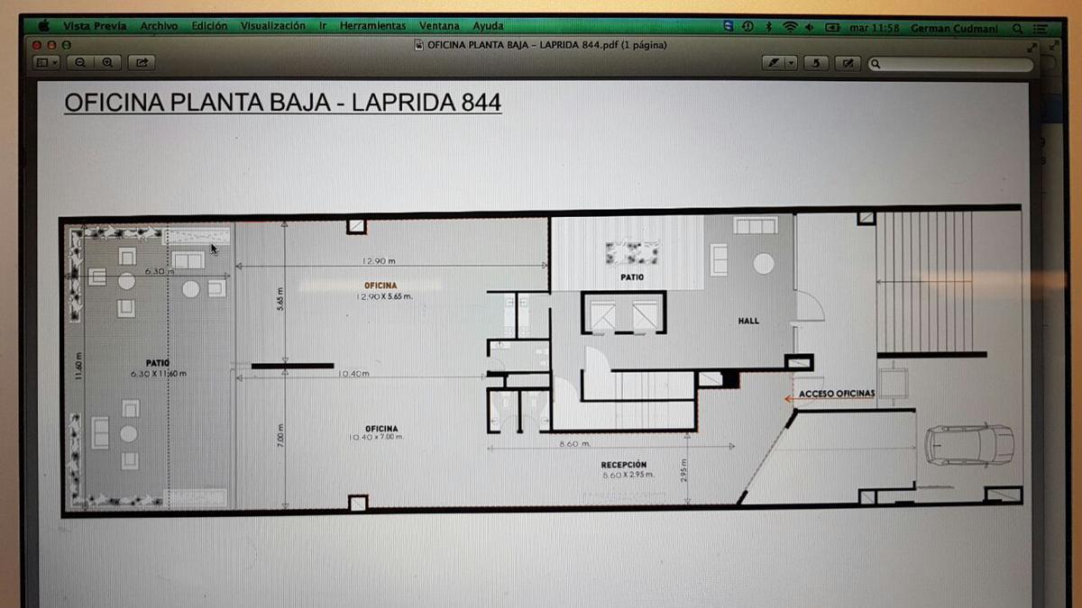 Foto Oficina en Venta en  Barrio Norte,  San Miguel De Tucumán  LAPRIDA al 800