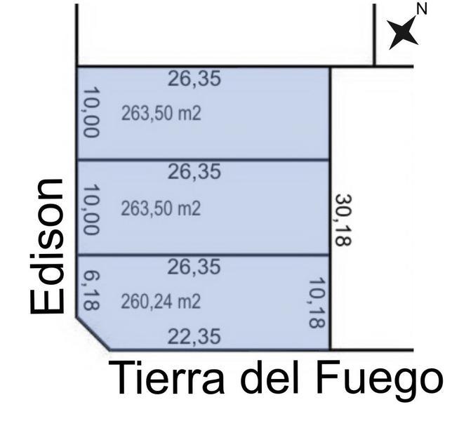 Foto Terreno en Venta en  Trelew ,  Chubut  Edison al 1600