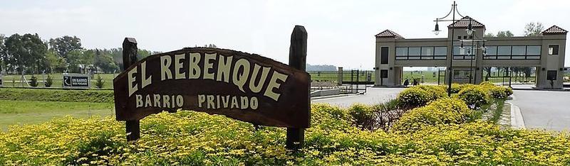 Foto Terreno en Venta en  El Rebenque,  Canning  Excelente lote en El Rebenque, canning