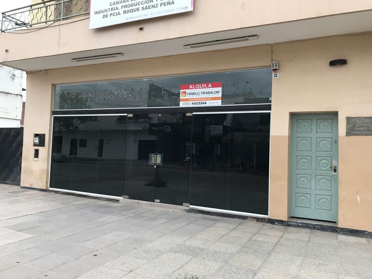 Foto Local en Alquiler en  Centro,  Presidencia Roque Saenz Peña  Mariano Moreno al 800