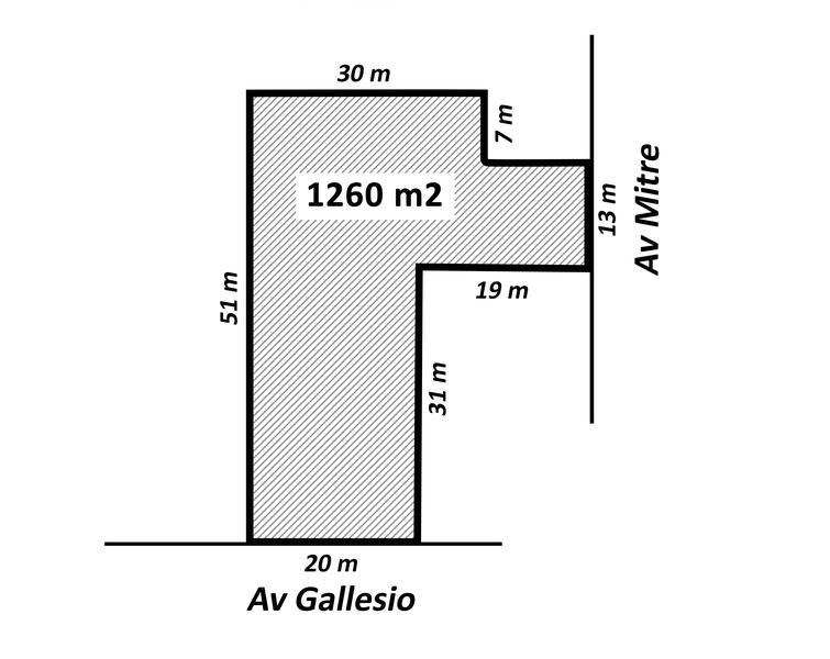 Foto Terreno en Alquiler en  Centro (Zarate),  Zarate  Gallesio al 800