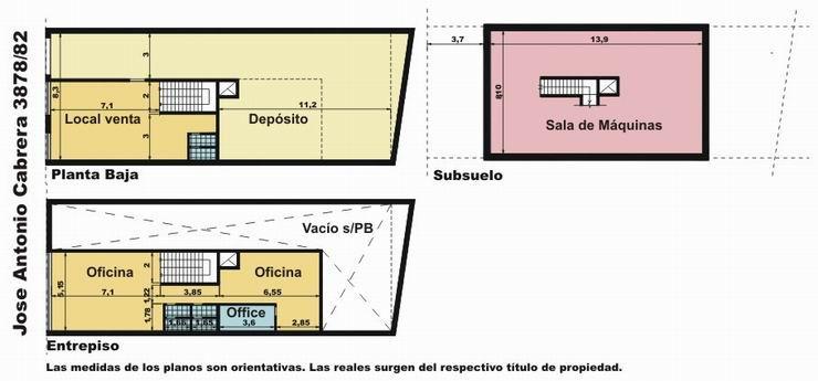 Foto Oficina en Venta en  Palermo ,  Capital Federal  Cabrera al 3800
