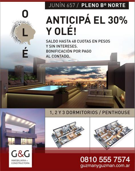 Foto Departamento en Venta en  San Miguel De Tucumán,  Capital  OLÉ APARTMENTS - Junin 657