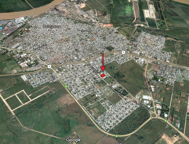 Foto Depósito en Alquiler en  9 De Julio,  Campana  Rivadavia al 1600