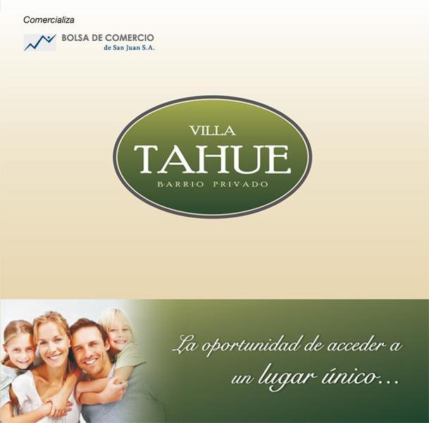 Foto Terreno en Venta en  Albardon ,  San Juan  Tucuman y Sarmiento. Albardon. Villa Tahue 0