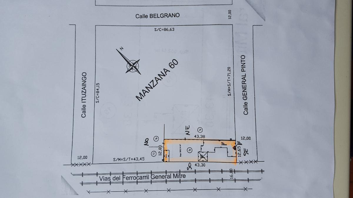 Foto Terreno en Venta en  San Fernando ,  G.B.A. Zona Norte  General Pinto  1500
