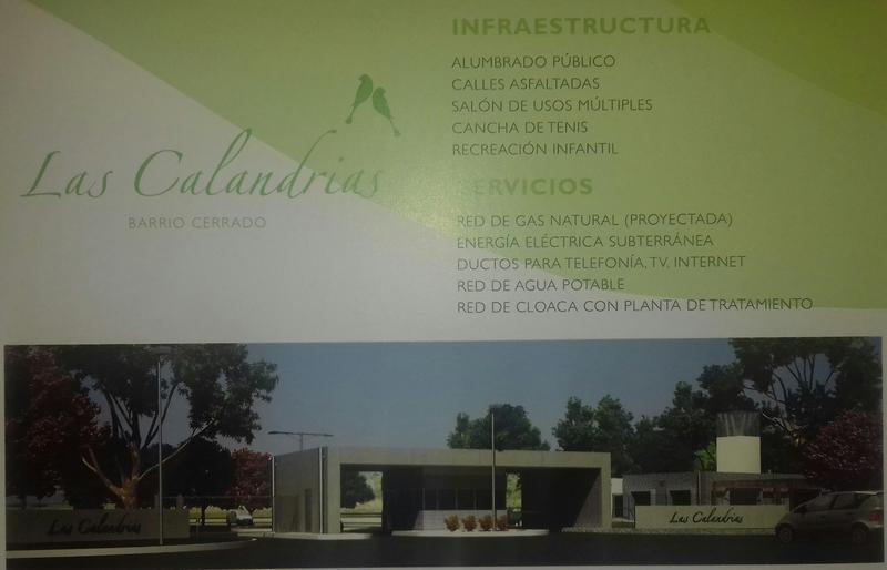 Foto Terreno en Venta en  Countries/B.Cerrado,  Campana  Barrio Las Calandrias
