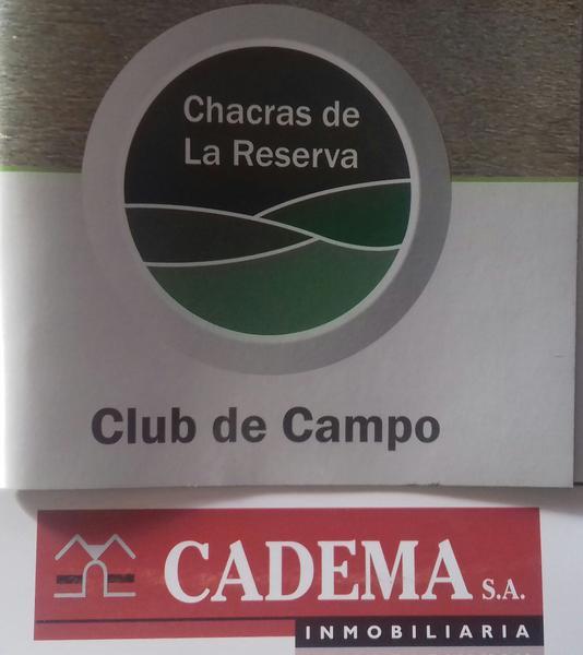 Foto Terreno en Venta en  Los Cardales,  Exaltacion De La Cruz  Chacras de la Reserva al 100