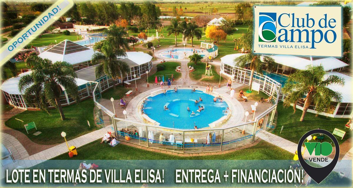 Foto Terreno en Venta en  Villa Elisa,  Colon  Club de Campo Termas VE