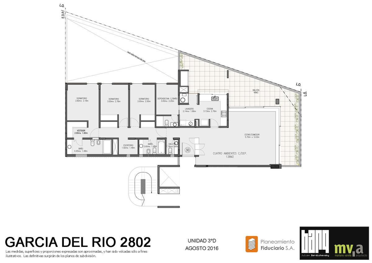 Foto Departamento en Venta en  Nuñez ,  Capital Federal  García del Río al 2800
