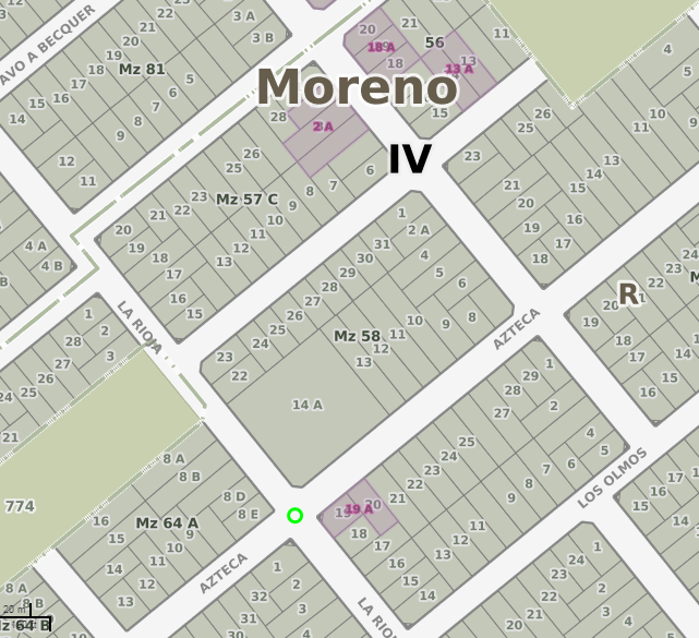 Foto Local en Venta en  Moreno,  Moreno  LA RIOJA entre AZTECA y