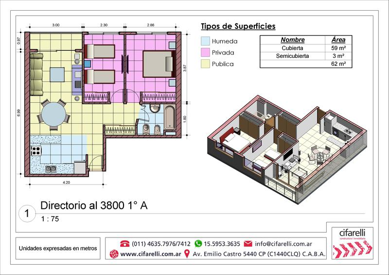 Foto Departamento en Venta en  P.Avellaneda ,  Capital Federal  Directorio al 3800 1A