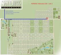 Foto thumbnail Terreno en Venta en  San Diego C.C,  Countries/B.Cerrado  Club de Campo SAN DIEGO - Manzana 32B, Lote 2