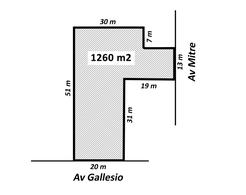 Foto thumbnail Terreno en Alquiler en  Centro (Zarate),  Zarate  Gallesio al 800