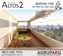 Foto thumbnail Departamento en Venta en  San Miguel De Tucumán,  Capital  Av. Mate de Luna al 1530- 1 Dorm - Financiado