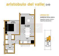 Foto thumbnail Departamento en Venta en  Castelar Sur,  Castelar  ARISTOBULO DEL VALLE 549 (Piso 5°)