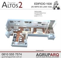 Foto thumbnail Departamento en Venta en  San Miguel De Tucumán,  Capital  Av. Mate de Luna al 1530, 1 Dorm - Financiado