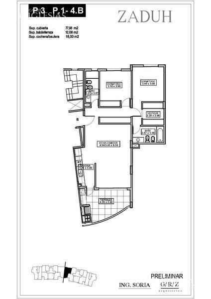 Departamento en Venta en Zaduh a Venta - u$s 248.000