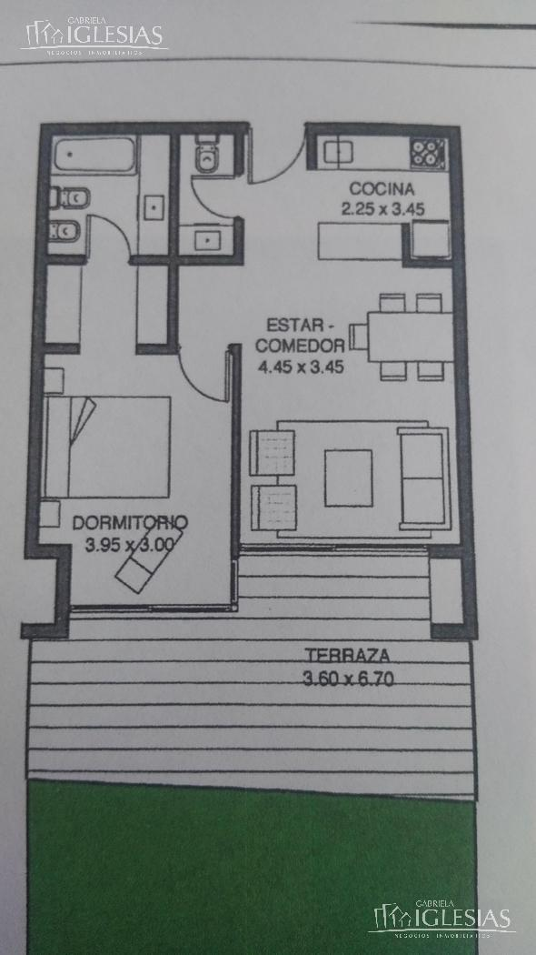 Departamento en Venta en QBAY GOLF a Venta - u$s 180.000