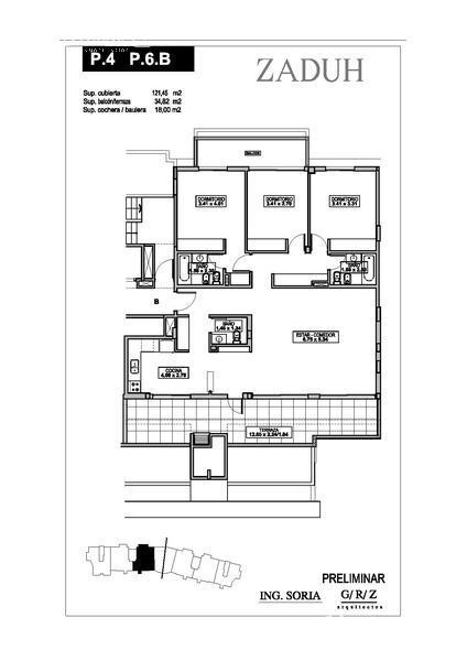 Departamento en Alquiler en Zaduh a Alquiler - $ 28.000